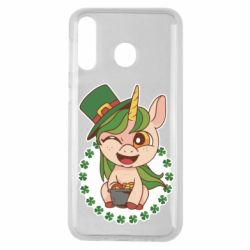 Чехол для Samsung M30 Unicorn patrick day