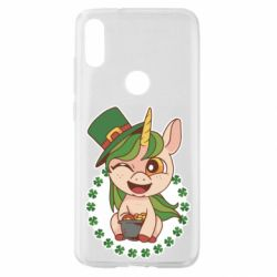 Чехол для Xiaomi Mi Play Unicorn patrick day
