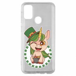 Чехол для Samsung M30s Unicorn patrick day