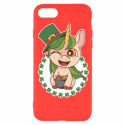 Чехол для iPhone 7 Unicorn patrick day