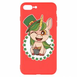 Чехол для iPhone 7 Plus Unicorn patrick day