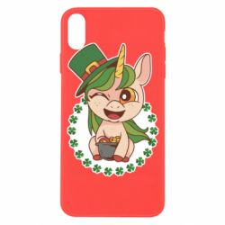 Чехол для iPhone X/Xs Unicorn patrick day