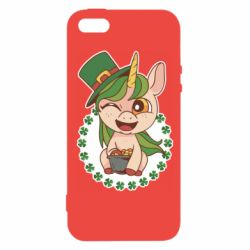 Чехол для iPhone5/5S/SE Unicorn patrick day