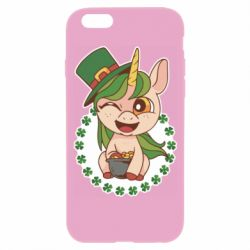 Чехол для iPhone 6/6S Unicorn patrick day