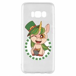 Чехол для Samsung S8 Unicorn patrick day