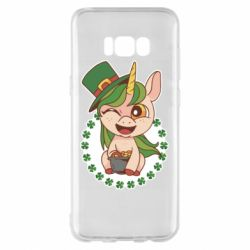 Чехол для Samsung S8+ Unicorn patrick day