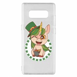 Чехол для Samsung Note 8 Unicorn patrick day