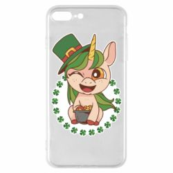 Чехол для iPhone 8 Plus Unicorn patrick day