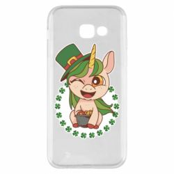 Чехол для Samsung A5 2017 Unicorn patrick day