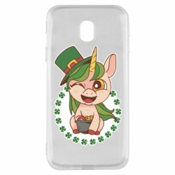 Чехол для Samsung J3 2017 Unicorn patrick day