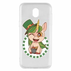 Чехол для Samsung J5 2017 Unicorn patrick day