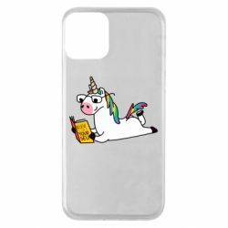 Чехол для iPhone 11 Unicorn reader