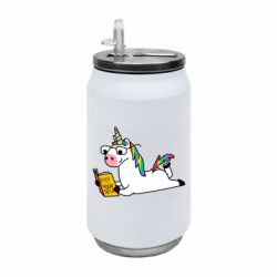 Термобанка 350ml Unicorn reader