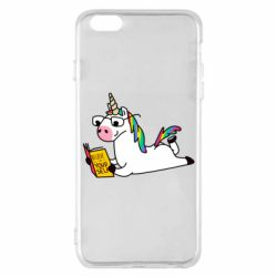 Чехол для iPhone 6 Plus/6S Plus Unicorn reader
