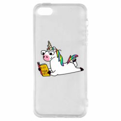 Чехол для iPhone5/5S/SE Unicorn reader