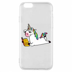 Чехол для iPhone 6/6S Unicorn reader