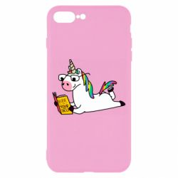 Чехол для iPhone 8 Plus Unicorn reader