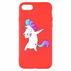 Чехол для iPhone 8 Unicorn swag
