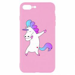 Чехол для iPhone 8 Plus Unicorn swag