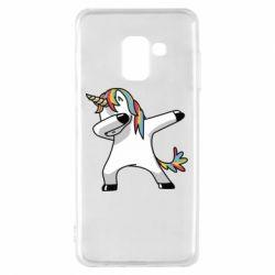 Чехол для Samsung A8 2018 Unicorn SWAG