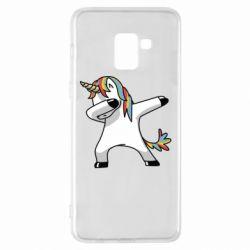 Чехол для Samsung A8+ 2018 Unicorn SWAG