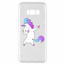 Чехол для Samsung S8 Unicorn swag