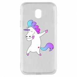 Чехол для Samsung J3 2017 Unicorn swag