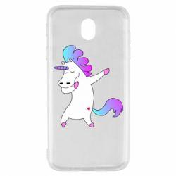 Чехол для Samsung J7 2017 Unicorn swag