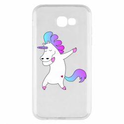 Чехол для Samsung A7 2017 Unicorn swag