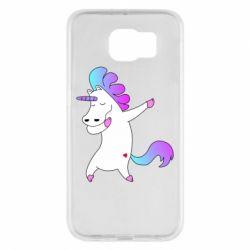 Чехол для Samsung S6 Unicorn swag