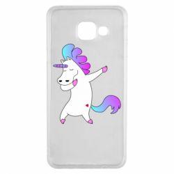 Чехол для Samsung A3 2016 Unicorn swag