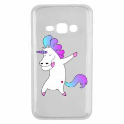 Чехол для Samsung J1 2016 Unicorn swag