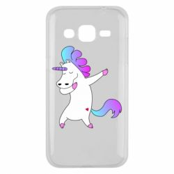 Чехол для Samsung J2 2015 Unicorn swag