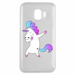 Чехол для Samsung J2 2018 Unicorn swag
