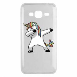 Чехол для Samsung J3 2016 Unicorn SWAG