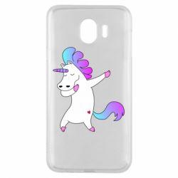 Чехол для Samsung J4 Unicorn swag