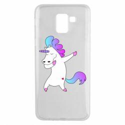 Чехол для Samsung J6 Unicorn swag