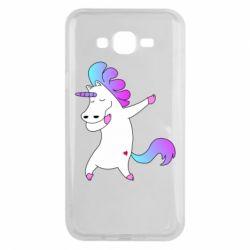 Чехол для Samsung J7 2015 Unicorn swag