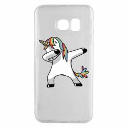 Чехол для Samsung S6 EDGE Unicorn SWAG