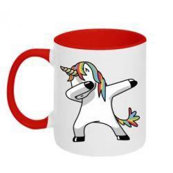 Кружка двухцветная 320ml Unicorn SWAG