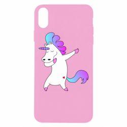 Чехол для iPhone Xs Max Unicorn swag