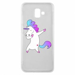 Чехол для Samsung J6 Plus 2018 Unicorn swag