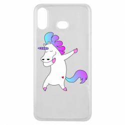 Чехол для Samsung A6s Unicorn swag