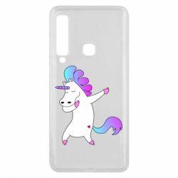 Чехол для Samsung A9 2018 Unicorn swag