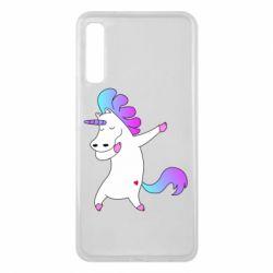 Чехол для Samsung A7 2018 Unicorn swag