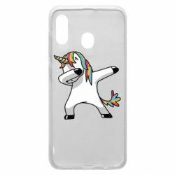 Чехол для Samsung A30 Unicorn SWAG
