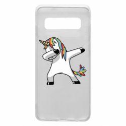 Чехол для Samsung S10 Unicorn SWAG