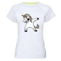 Женская спортивная футболка Unicorn SWAG