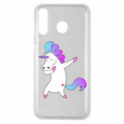 Чехол для Samsung M30 Unicorn swag