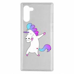 Чехол для Samsung Note 10 Unicorn swag